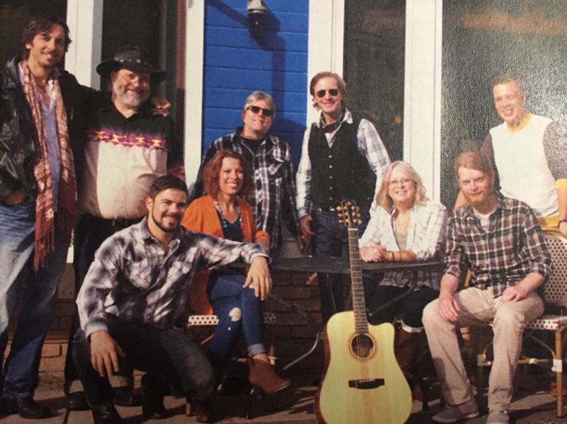 CONTRIBUTED PHOTO - Members of the Aspen Meadow Band strive to use music to help people. 'We try to do something different with music,' said band leader Matthew Senn.