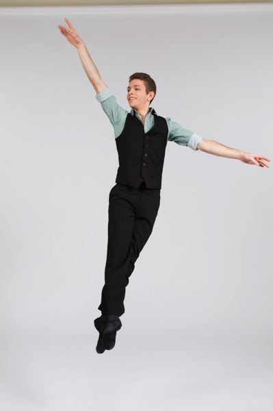COURTESY OF THE PORTLAND BALLET - Evan Lindsay, a senior at Beaverton's Arts & Communication Magnet Academy, plans to train professionally in Columbus, Ohio, next year.