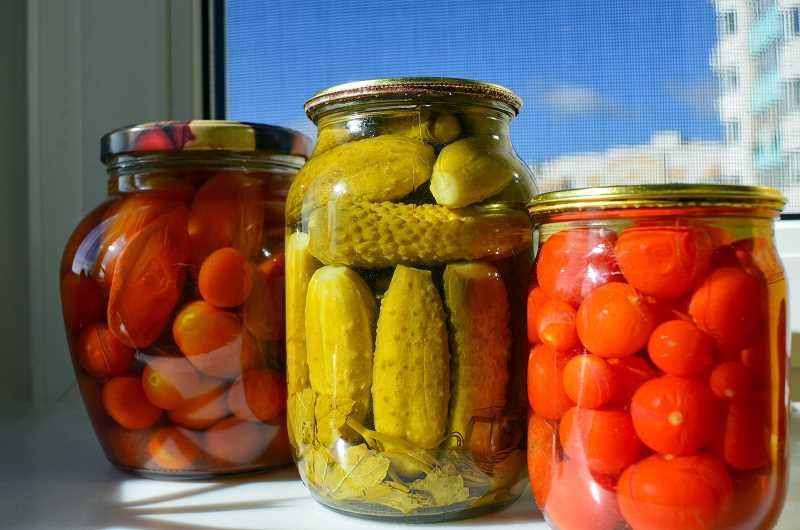 SUBMITTED PHOTO  - Learn food preservation skills such as pickling vegetables through Oregon State University Extension Service classes this summer.