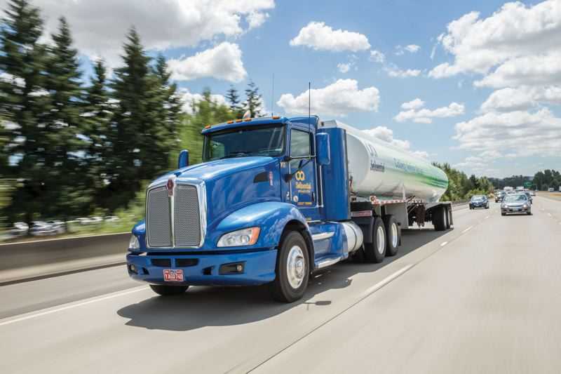 COURTESY: SEQUENTIAL - Trucks fueled by SeQuential B20 biodiesel pick up waste grease from restaurants, universities, stadiums, grocery stores and food processors. It is then transported to the companys plant in Salem, where it is turned into biodiesel.
