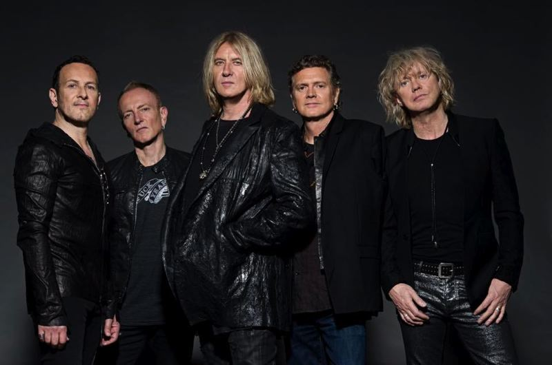 COURTESY: KAZUYO HORIE - Def Leppard plays at Moda Center, June 10, bringing their classics from the 'Pyromania' and 'Hysteria' to Portland with (from left) Vivian Campbell, Phil Collen, Joe Elliott, Rick Allen and Rick Savage.