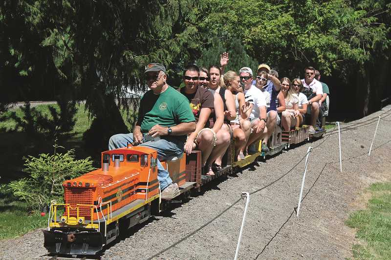 PIONEER FILE PHOTO - The Molalla Train Park is officially open for the season. The park is open every Sunday through October 29 from 12 p.m. to 5 p.m. Admission is free.