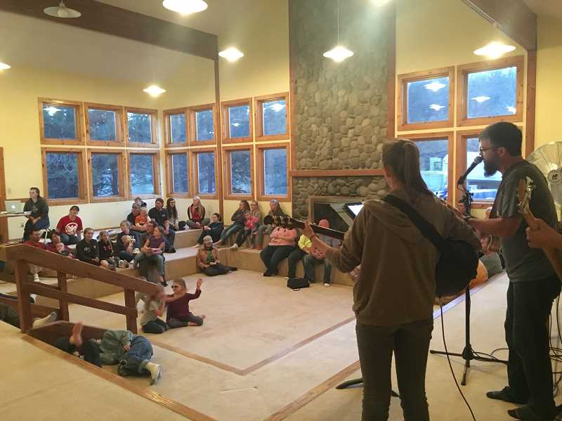 Pamplin Media Group - New church camp breathes life into