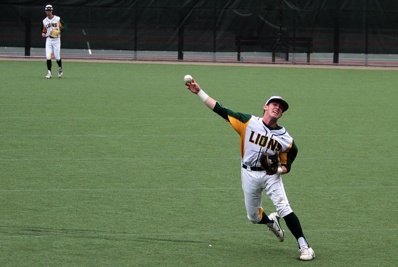 TIDINGS PHOTO: MILES VANCE - West Linn junior second baseman James Marshall and the Lions will play Clackamas for the 2017 Class 6A state championship at 5 p.m. Saturday at Volcanoes Stadium in Keizer.