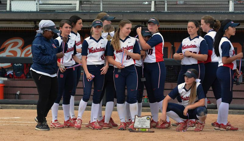 TIMES PHOTO: MATT SINGLEDECKER - The Westview softball team lost in the Class 6A state championship game to North Medford on Saturday.