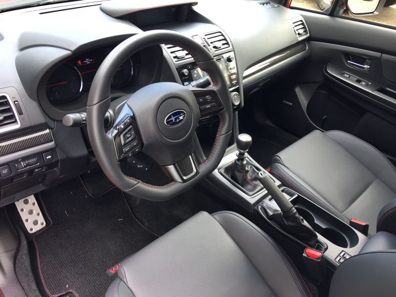 PORTLAND TRIBUNE: JEFF ZURSCHMEIDE - The 2018 Subaru WRX is availlable with a six-speed manual or continuously variable transmission. And if you spring for the optional navigation system, you get a seven-inch touchscreen display with full Subaru StarLink smart phone integration.
