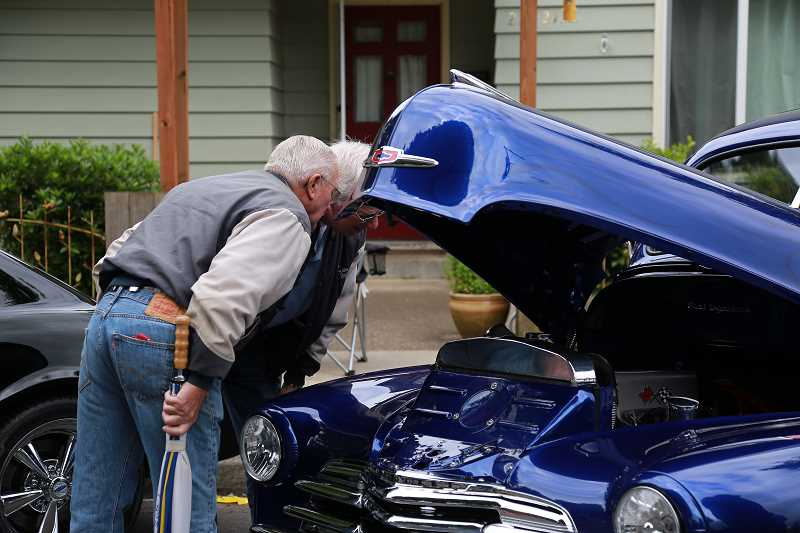 COURTESY OF DARCI VANDENHOEK/BLUELINE STUDIOS - You can check under the hood of many of the classic and custom cars at the annual Cruisin' Sherwood car show set for June 10.