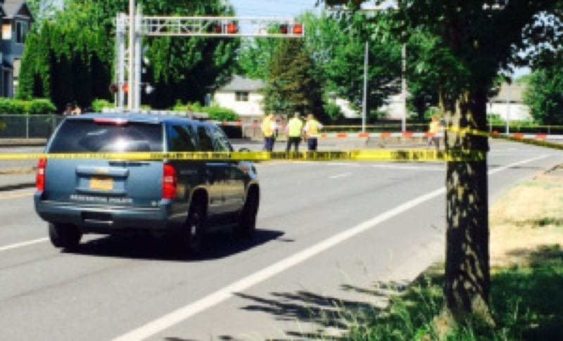 KOIN 6 NEWS - Police responded to the scene of Monday's fatal MAX collision with a pedestrian.