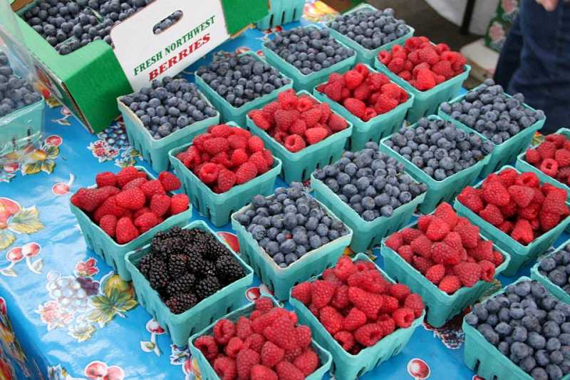 FILE PHOTO - Fresh Oregon berries are one of the many delicious temptations at Tuesday Night Market in Hillsboro. The weekly market opens Tuesday, June 13 and runs through Aug. 29, with special events planned each week.