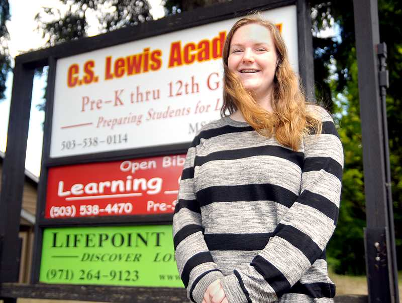 SETH GORDON - C.S. Lewis Academy valedictorian Abigail Ambrose plans to attend Northwest University to major in elementary education after graduating on Saturday.