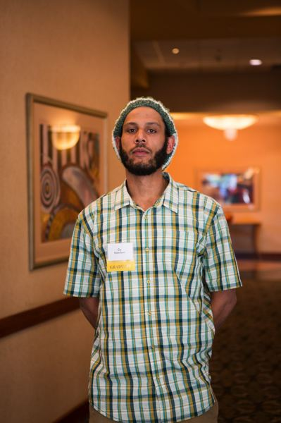 PAMPLIN MEDIA GROUP: ADAM WICKHAM  - Cy Robertson, a cousin of Jarvis Zirkle, is also a carpenter, and has worked on many Portland area projects. His friend in Reno is making $2,000 a week, which is tempting, but he doesnt wan to leave his family behind in Portland for work.
