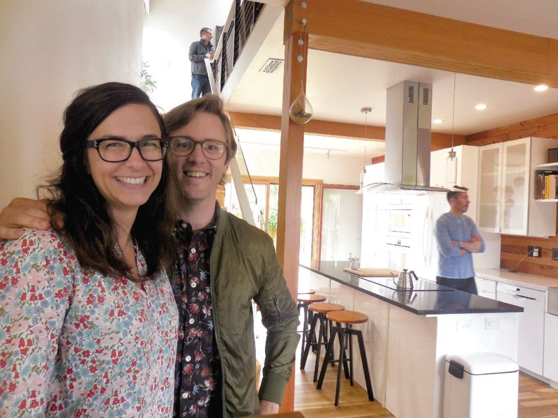 PAMPLIN MEDIA GROUP: JOSEPH GALLIVAN - Claire Paris and her husband Matt Neff love their passive house remodel, and see their energy data as a challenge to be more frugal.