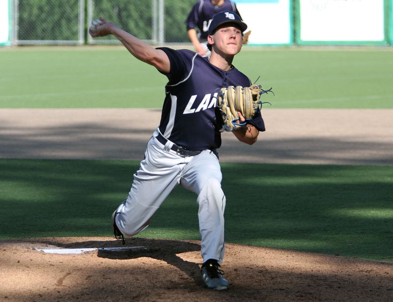REVIEW FILE PHOTO - Lake Oswego sophomore Alex Giroux was named Three Rivers League Pitcher of the Year after posting a 0.832 ERA and allowing just 26 hits and seven walks while striking out 37 in 39 2/3 innings.