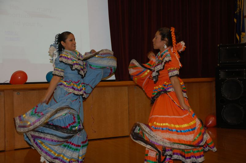 COURTESY PHOTO: LORI HALL - This year's Festival Latino will feature Aztec dancing by Mixicatiahui at Clackamas Community College.