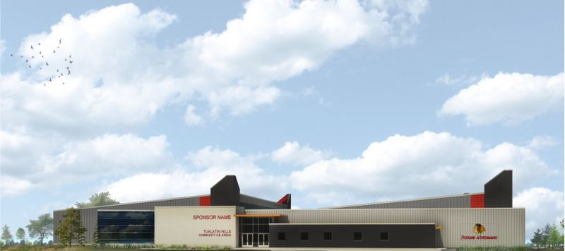 COURTESY: PORTLAND WINTERHAWKS - Rendering of proposed new skating facility for Portland Winterhawks.
