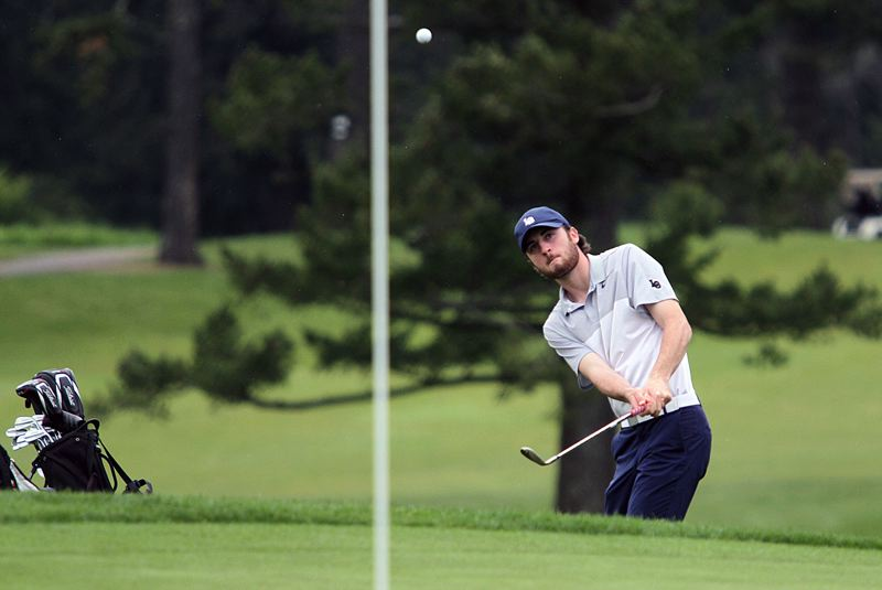 REVIEW FILE PHOTO - Lake Oswego senior Cam Nicklos won honors as Three Rivers League medalist for 2017.