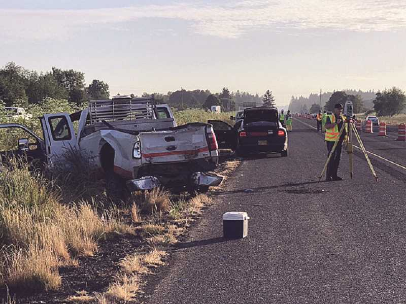 OSP - A hit-and-run crash has become fatal, as one of two construction workers hit by a box truck has died a week later.