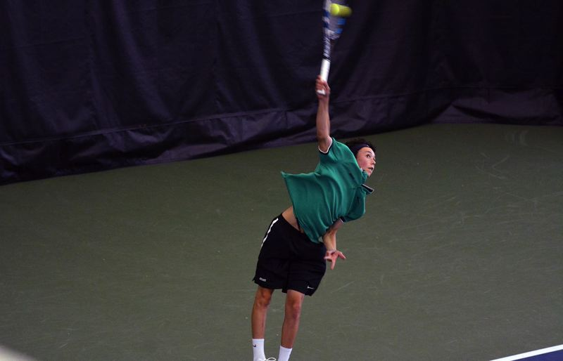 TIMES FILE PHOTO - Jesuit freshman Peter Murphy won a state championship this season and is one of the Oregon Sports Awards finalists for Male Prep Tennis Player of the Year.
