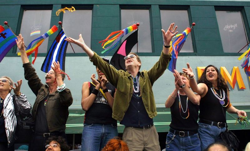 PAMPLIN MEDIA GROUP FILE PHOTO: JIM CLARK - Fans flock to the Portland streets for the Pride Parade.