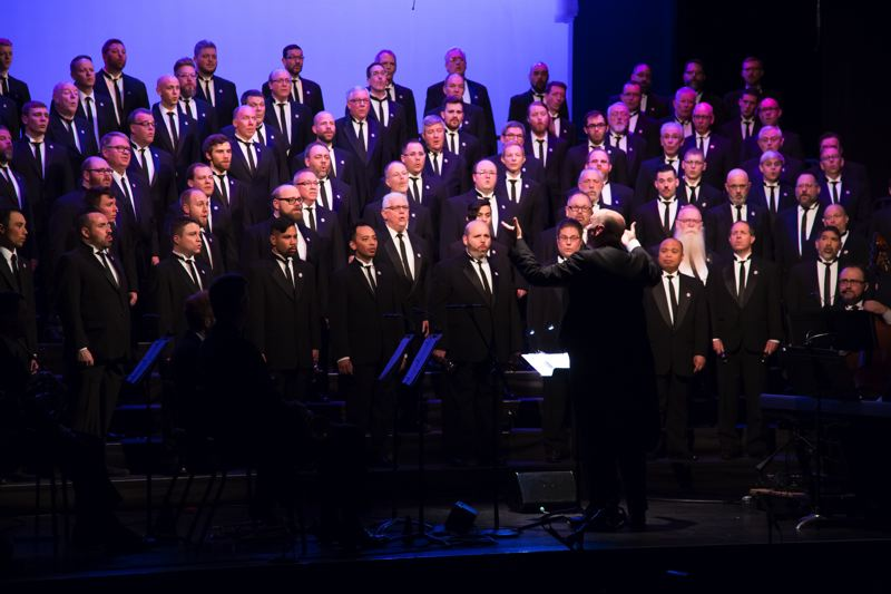 COURTESY: PGMC - The Portland Gay Men's Chorus, which has a big role in the Portland Pride Festival this weekend, has a monumental tour planned in China for 2018, including a stop in Beijing.