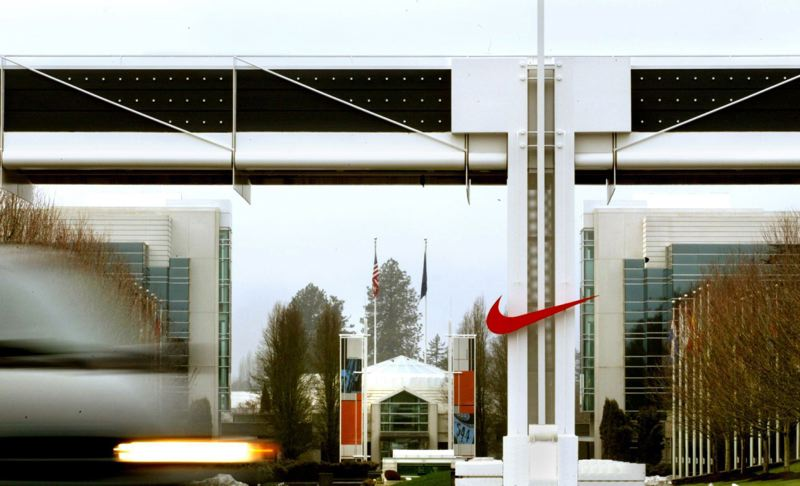 PAMPLIN MEDIA GROUP FILE PHOTO - Nike Inc. said Thursday, June 15, that it could lay off 1,400 people in Washington County because of corporate restructuring.
