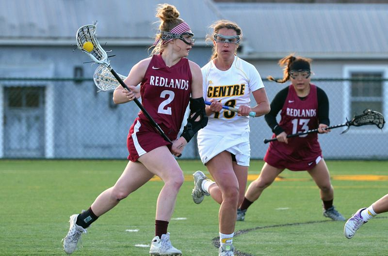 COURTESY SAM KEARY - West Linn graduate Hanna Morford was recently named to all-league and all-region teams following her sophomore season at the University of Redlands.