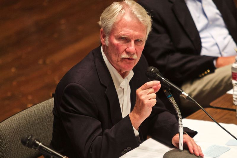 PAMPLIN MEDIA GROUP FILE PHOTO - Former Gov. John Kitzhaber will not face federal charges after the U.S. Attorney's Office for Oregon ended a nearly two-year probe into an influence-peddling scandal that forced Kitzhaber's resignation in February 2015.