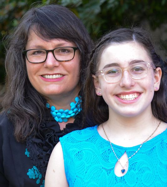 COURTESY PHOTO - Tracy Prince and her daugther, Zadie Schaffer