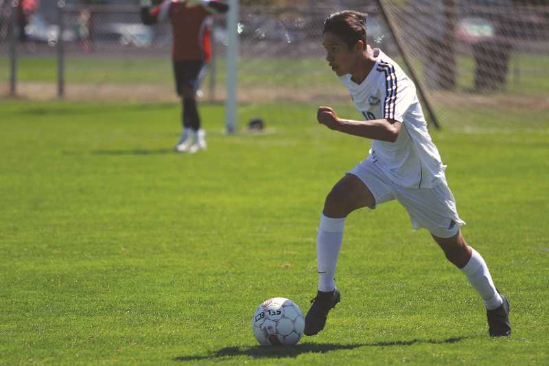 PHIL HAWKINS - Incoming junior defender Edwin Silva is the lone starter from last year's state championship boys soccer team that is returning for the 2017 season.