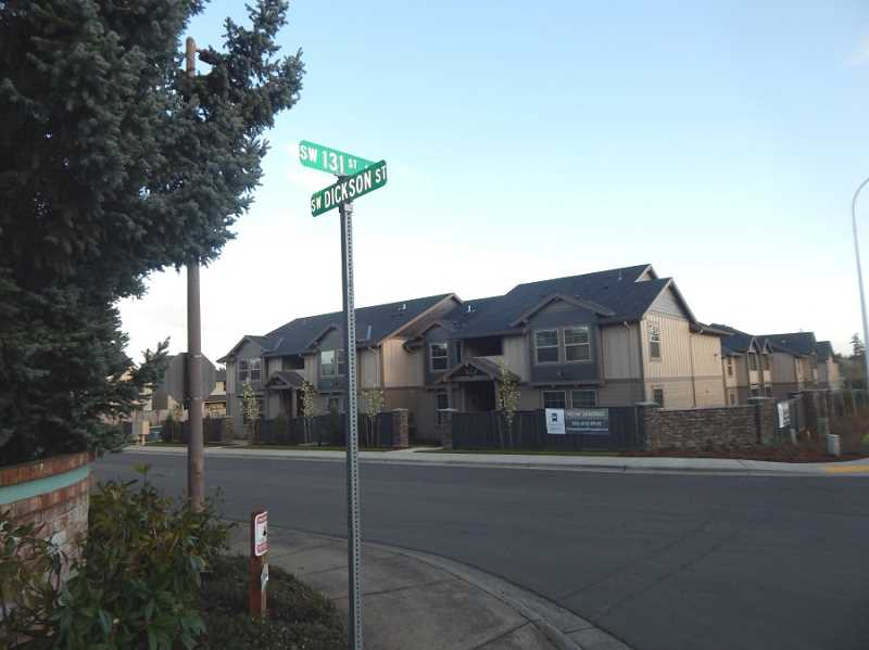 BARBARA SHERMAN - Ever since the Timberland development comprised of single-family homes and apartments was built on Dickson, just north of the Highlands, residents have complained about increased traffic and parking problems.