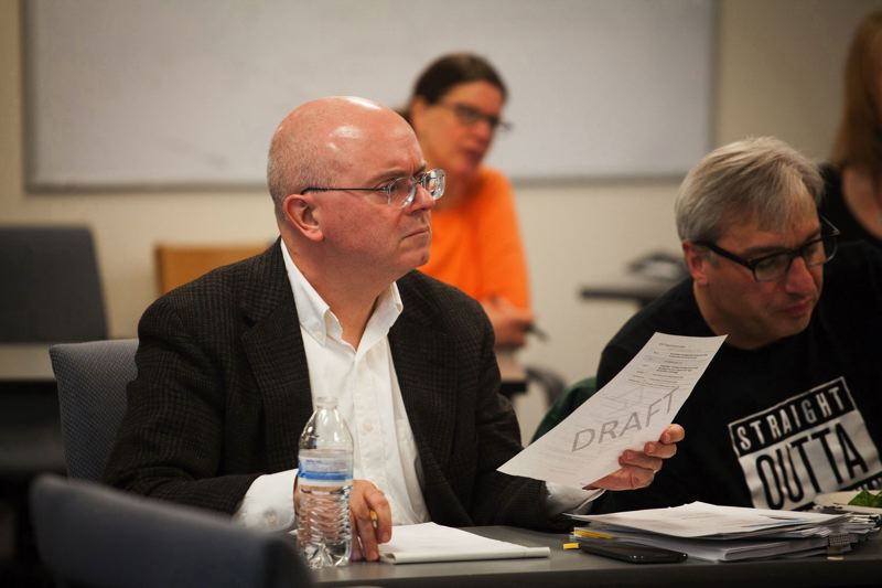 TRIBUNE FILE PHOTO  - A school principals group, after requesting emails and texts sent by school board member Paul Anthony, is asking him to resign from his post.