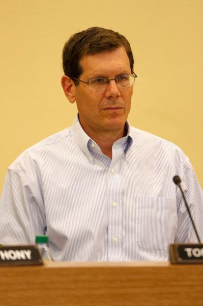 TRIBUNE FILE PHOTO  - School board Chairman Tom Koehler says Anthony needs to evaluate his future role.