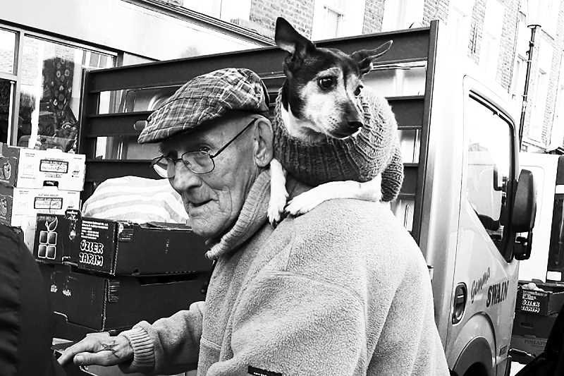 SUBMITTED  - Senior citizens and their pets can be good friends, but sometimes seniors need help paying for the pet's food.