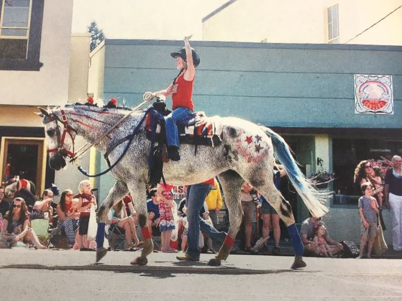 FILE PHOTO - The annual Estacada Fourth of July parade will begin at 10 a.m. at Estacada High School, 355 N.E. Sixth Ave., before making its way down Main Street and then back up Broadway Street.