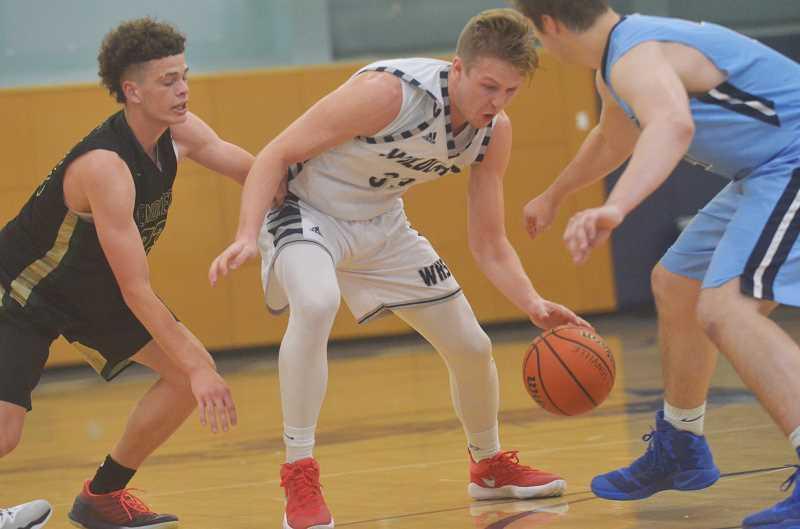 SPOKESMAN PHOTO: COREY BUCHANAN - Wilsonville High 2017 graduate Zach Reichle was named the Metro team's 'Star of Stars' at the Oregon Athletic Coaches Association All-Star showcase Saturday, June 17 at Wilsonville High School