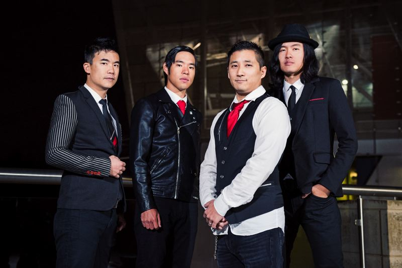 COURTESY PHOTO - The Slants can now focus on music, rather than a court case.