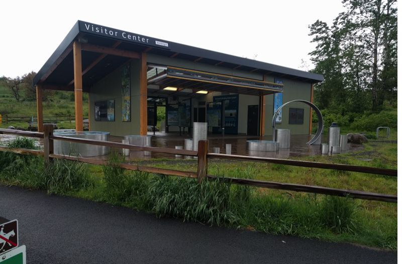 PORTLAND TRIBUNE: JIM REDDEN - Among the projects in the ruling is this $1.2 million Visitor Center at Powell Butte.