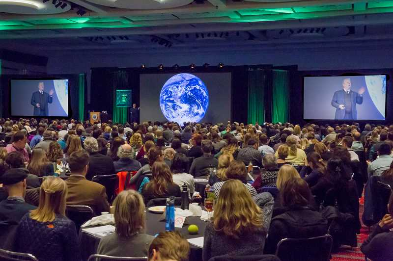 COURTESY: CLIMATE REALITY PROJECT - Eleven thousand climate reality leaders are now trained worldwide. Gore came to Denver in March; this summer it's Bellevue, Wash.
