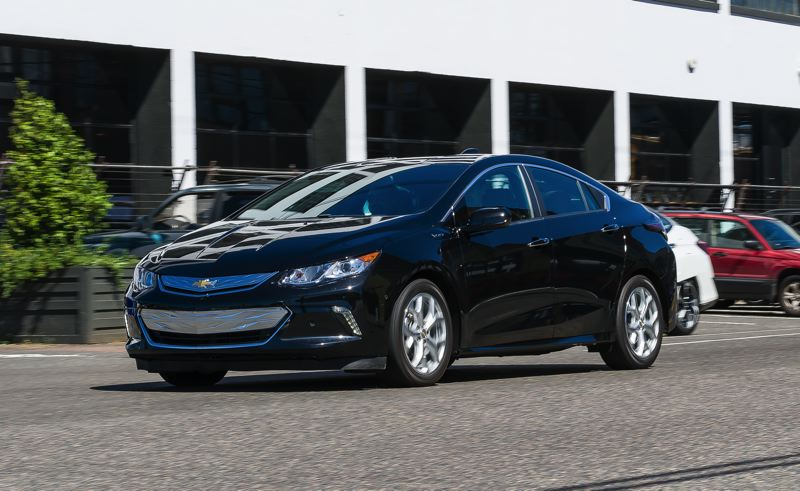 DOUG BERGER/NWAPA - The 2017 Chevy Volt was named Northwest Plug-In Hybrid of the Year.