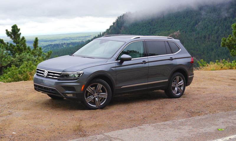 PORTLAND TRIBUNE: JEFF ZURSCHMEIDE - The new 2017 VW Tiguan is generally larger in every dimension. It now offers three rows of seats and 58 percent more cargo and seating space than the previous model.