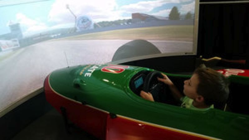 COURTESY WOS - Learning can be fun at the World of Speed