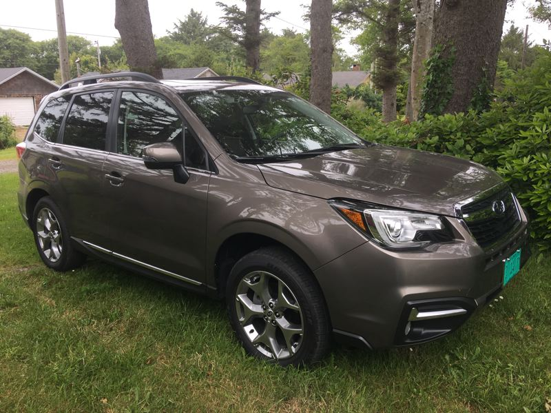 PORTLAND TRIBUNE: JEFF ZURSCHMEIDE - The 2017 Subau Forester is a compact crossover that is a little taller than most passenger cars, offering a great view of the road for the driver.