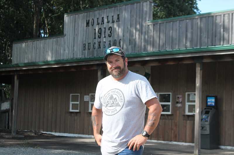 PIONEER PHOTO: CONNER WILLIAMS  - Tim Anderson is entering his fourth year as president of the Molalla Buckeroo Association, and he's gearing up to make this year's festitivies the best yet under his leadership.