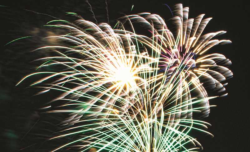 CENTRAL OREGONIAN FILE PHOTO - The local Independence Day celebration always concludes with a fireworks show.