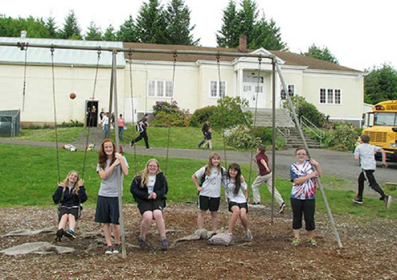 SUBMITTED PHOTO - Students at Renaissance Public Academy, a charter school in the Molalla River School District