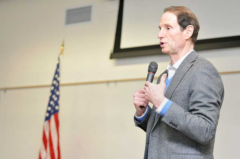 GARY ALLEN - Sen. Ron Wyden will hold a town hall July 8 in the auditorium at Newberg High School. It will be the second of the year in Yamhill County and among the 54 town halls Wyden has held overall so far in 2017.