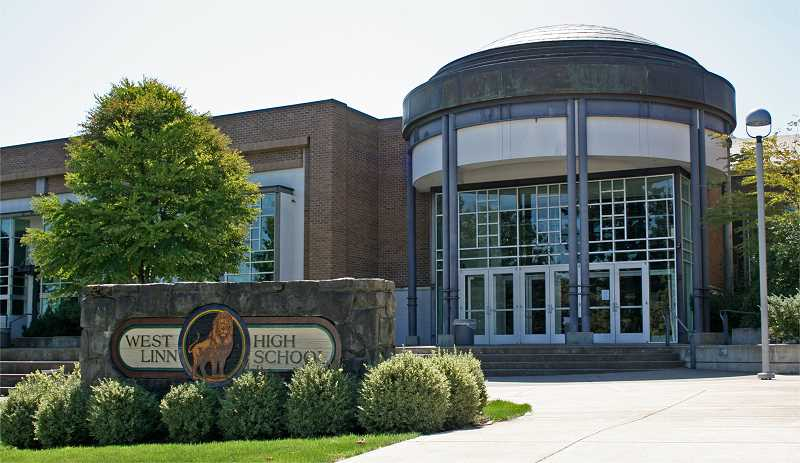 SPOKESMAN FILE PHOTO - Capacity issues at West Linn High School have prompted the school district to begin thinking about future high school options.