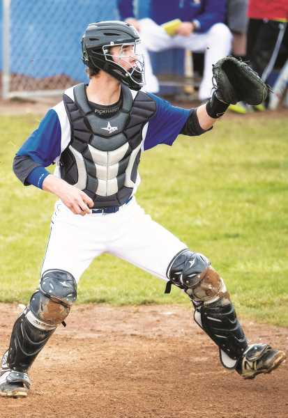 LON AUSTIN/CENTRAL OREGONIAN - Crook County catcher Heath Pickhardt has been named to the OSAA Class 4A all-state second team. The junior, who was named to the Tri-Valley Conference all-league first-team, had a batting average of .508 for the season and .522 during league.