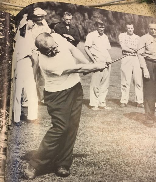 COURTESY: EASTMORELAND GOLF COURSE - Benny Hughes was one of the top local amateur golfers for years at Eastmoreland, and had a following to match.
