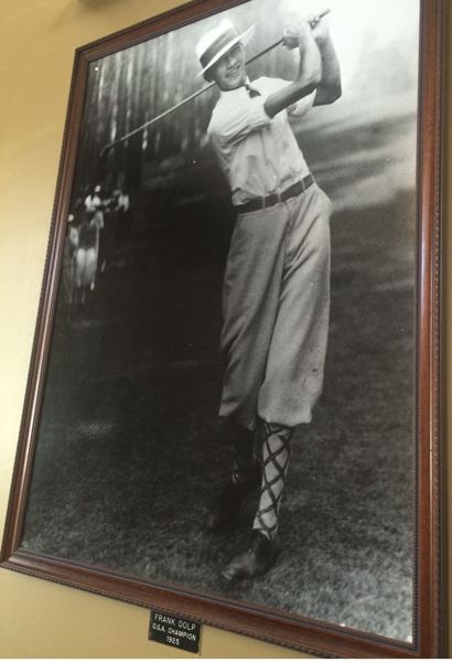 COURTESY: EASTMORELAND GOLF COURSE - Frank Dolp won a couple of city championships at Eastmoreland at a time when he was one of the leading players in the country.